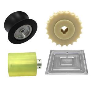 Präzisions-Edelstahl-Metal-oder Plastikteil CNC drehenprägemaschinelle Bearbeitung