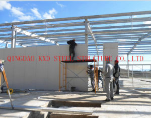 Портал Pre-Engineered рамы легких стальных структура практикума (KXD-209)