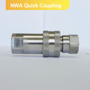 Accoppiamento rapido di tubo flessibile di serie 7241A di Nwa del montaggio degli zoccoli dell'acqua di gomma dell'oceano (acciaio inossidabile)