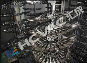 Machine en plastique de métallisation sous vide de la métallisation PVD de cuvette de plaque de couteau de fourche de Huicheng