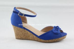Fashion Peep Toe femmes sandale avec toile haut