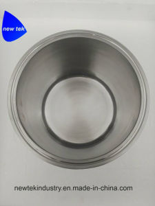 6. Abrazadera de triple Recipiente para extractores Bho de bucle cerrado