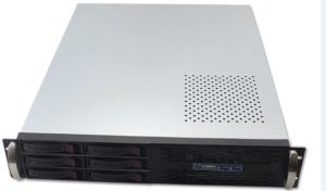2u 6 HDD Bays Server Case Server Chassis
