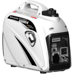 Freqüência Variável Profissional 2.0kw gerador a gasolina