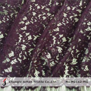 Puntilla de flor de algodón tejido vestidos de novia (M2162-MG)