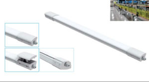 IP 65の防水当て木の据え付け品36Wの三証拠LEDライト、連結可能LED線形ライト
