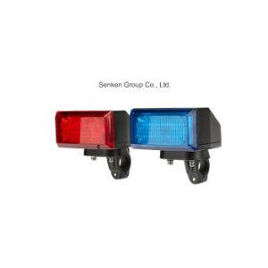 Senken 24W 12Vの警察はオートバイの緊急の警告LEDのヘッドライトを巡回する