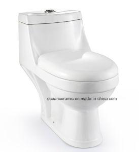 012 Venta caliente de una pieza de lavado baño, sanitarios
