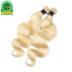Menschenhaar der jungfrau-färben Großhandelsbrasilianische Haar-hochwertige Verwicklung-freies 613#