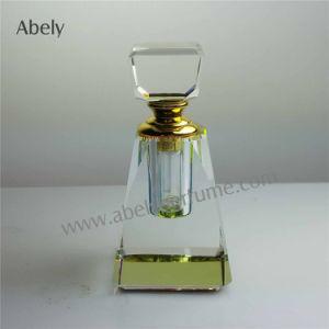 Diseño de moda de cristal de la botella de aceite Botella de Perfume de aceite por el perfume