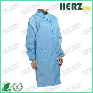 À prova de pó branco de vestuário antiestático ESD batas de laboratório