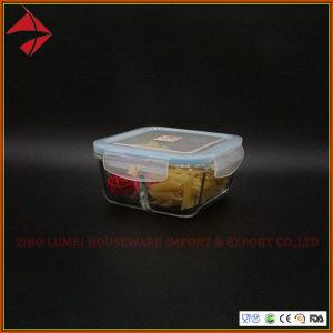 قابل للتراكم يقسم زجاجيّة وجبة غداء وعاء صندوق لأنّ طعام [غلسّ برودوكت]
