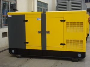 de Stille Diesel 150kVA 120kw Yuchai Geluiddichte Luifel van de Generator