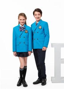 OEM 학교 옷 블레이저 코트 셔츠 복장 고등학교 획일한 디자인