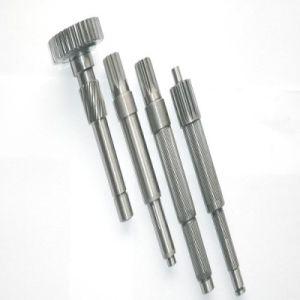OEM de fábrica de acero de alta precisión con la estría del engranaje del motor