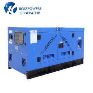 Конструкция Denyo шумоизоляция на открытой раме дизельный генератор