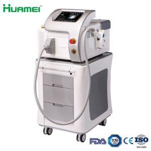 Portable 808nm Salão de Beleza Equipamentos Laser de diodo de remoção de pêlos Permanente Máquina Médica (TUV medical marcação&510K FDA)