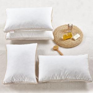 Plein de coton blanc polyester Oreiller pour l'hôtel (DPF9085)
