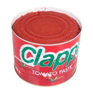 La pâte de tomate en conserve d'ouverture facile