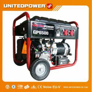 Potência unidos 5kw/5.5Kw Arranque eléctrico gerador gasolina portátil (EPA CARB)