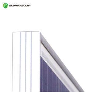 OEM proveedor chino de un grado alto de cuadros negros W 36V 5BB Mono 330W a 340W a 350 Vatios Panel Solar de 370W 100W a 500W