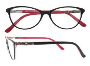Het met de hand gemaakte Frame van de Oogglazen van de Ontwerper van de Glazen van het Frame van de Manier van Eyewear van de Acetaat Nieuwe Italiaanse Met de hand gemaakte Optische