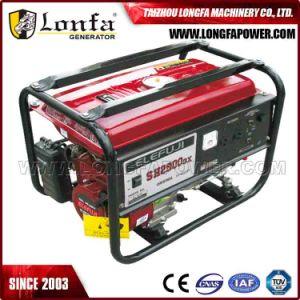 De Generator van de Motor van de Benzine van de Macht Sh2900 Sh1900 van Elefuji Sh3200