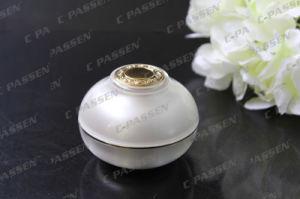 化粧品の包装のための贅沢な真珠の白いアクリルのクリーム色の瓶(PPC-ACJ-074)