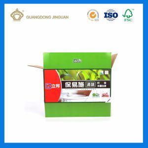 Установите флажок из гофрированного картона для фруктов упаковки (фрукты упаковки овощей в салоне)