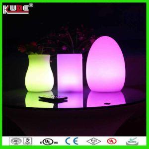 Huevo pequeño Lámpara de Sobremesa Lámpara de mesa LED Lámpara LED de diversiones