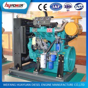 Weifang R4105 4 실린더 터보로 충전된 디젤 엔진