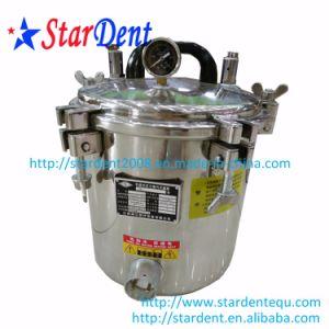12Lコックのステンレス鋼の携帯用滅菌装置の殺菌のない歯科実験装置の圧力鍋