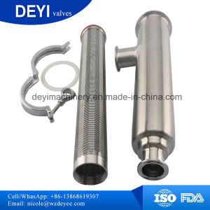 Aço inoxidável grau alimentício SS316L Filtrador de leite