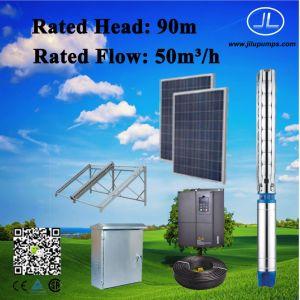 Домашних хозяйств 1,5 квт насос, насос постоянного тока системы, солнечная энергия погружение насоса системы