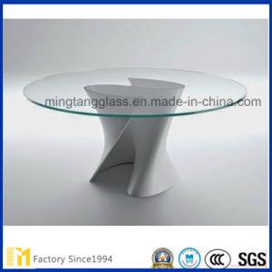 Ausgeglichenes Tisch-Oberseite-Glas mit kundenspezifischer Größe