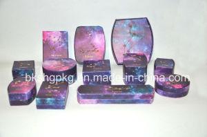 Caja de cuero elegante /Caja de regalo/caja de joyas de lujo/anillo de concha Collar Pulsera //Cajas