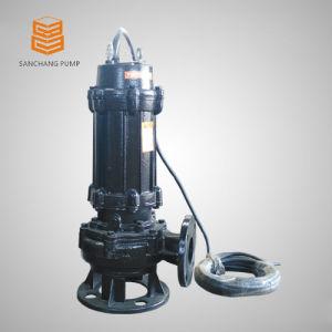 Versenkbare Abwasser-Wasser-Pumpe mit eingebautem Motor