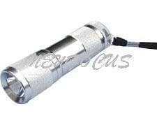 9 Светодиодный фонарик алюминия (Y-H0906)