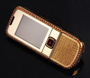 Telefono dorato 8800 di Embeded