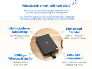 Ssk Smart WiFi внешний жесткий диск жесткий диск интеллектуальных систем хранения данных