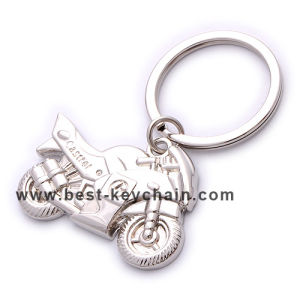 승진 Custom 3D Motorcycle Shape Metal Key Chain (BK53175)