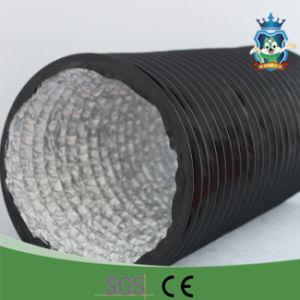 China Ventilatiing Conducto de aire de PVC flexible de aluminio de conducto para el sistema HVAC