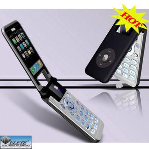 четырехдиапазонный новоприбывших с двумя SIM-карты аналогового сигнала на телевизоре мобильного телефона (IP088)