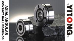 Los cojinetes de bolas de contacto angular axial para la fijación de tornillo