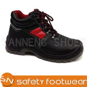 359c856343b Estilos de base a estrutura do calçado de couro genuíno Calçado de Segurança  Industrial botas de segurança do tornozelo (SN1339)