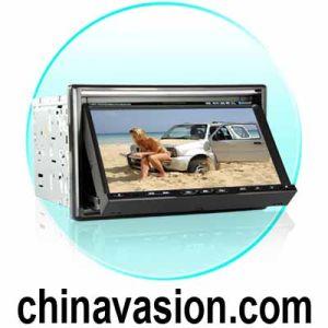 Zi2 인치 7 인치 차 DVD 플레이어 + GPS 항해 체계 + Bluetoothnc 합금 손잡이 (LWZ5180524)