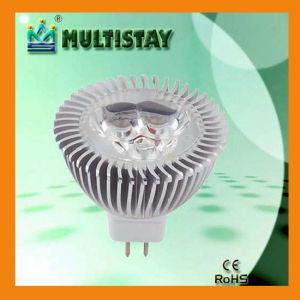 Luci delle lampade LED del riflettore di CE/RoHS PAR-16 3W LED (MSCL-D310)