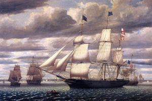 Pittura dipinta a mano della tela di canapa della barca di navigazione