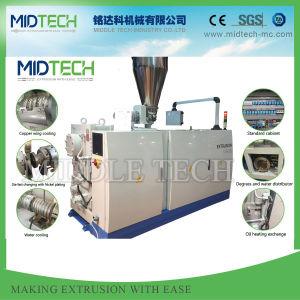 UPVC en plastique-CPVC-PVC-PE-PPR- WPC Profil/Tube/feuille/Board Making Machine de grande capacité de forme conique/parallèle, à double vis extrudeuse à double vis à vis unique, lab
