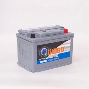 Batería de coche sin necesidad de mantenimiento del alto rendimiento de DIN80 12V80ah 58024